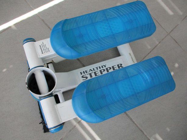 Healthy Stepper Aparelho de ginástica azul prático e resistente