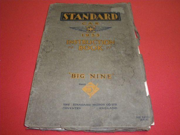"Standard 9 ""Big Nine"" - 1933"
