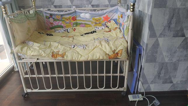 Ліжечко дитяче Geoby\ детская кровать с люлькой