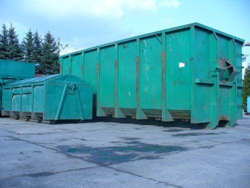 Kontenery na śmieci wywóz odpadów gruz kp7