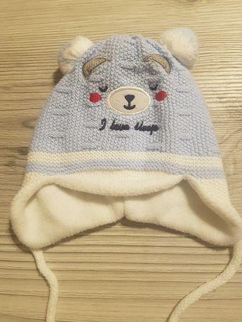 Cieplutka czapka + szalik dla dziecka