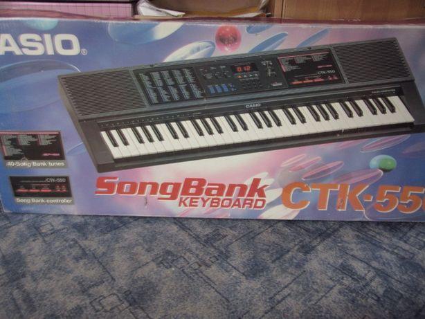 Keyboard Casio model CTK-550