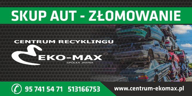 skup aut kasacja Sprzedaż części używanych ZWROT OC!