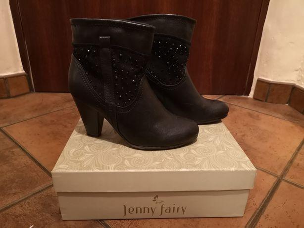 Czarne botki Jenny Fairy roz. 37