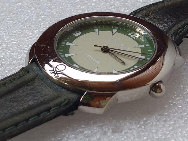 Часы наручные женские Benetton by Bulova кожаный ремешок кварцевые
