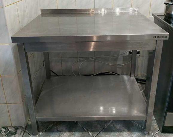 Stół roboczy ze stali nierdzewnej 95x70