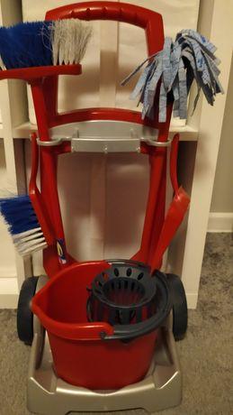 Zestaw sprzątający w wózku. Vileda dla dzieci
