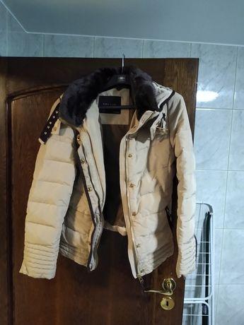 Kurtka zimowa puch Zara L