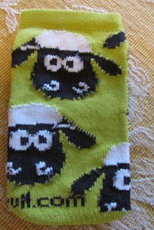 Bolsa para telemóvel com ovelhas