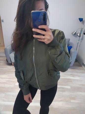 Kurtka bomberka H&M khaki L