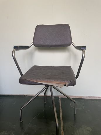 Krzesło biurowe PRL