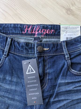 Nowe spodnie HILFIGER Junior dla dziewczynki
