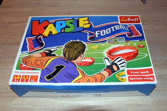 !TANIO - TREFL Gra zręcznościowa Kapsle Football 5+ jak NOWA