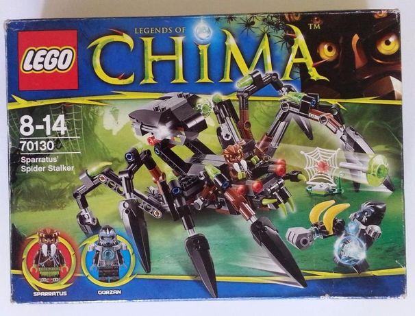 pudełko karton do klocków LEGO CHIMA 70130 Sparratus Spider Stalker