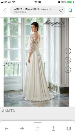 Sprzedam suknię ślubna margarett amata