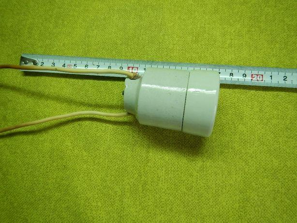 Патрон электрический керамический Е27 ссср