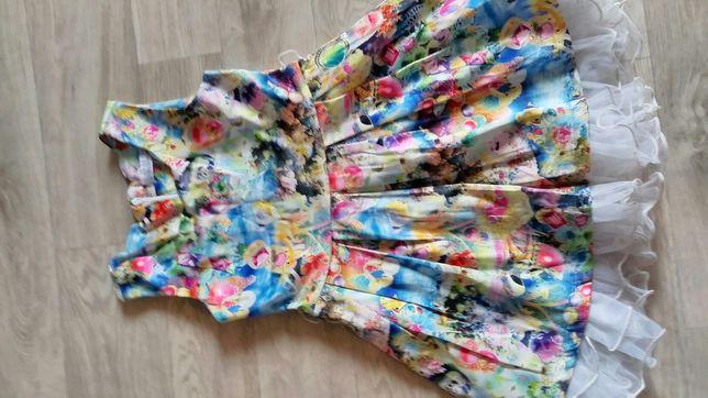 Летние,яркие платья на 4-5 лет.