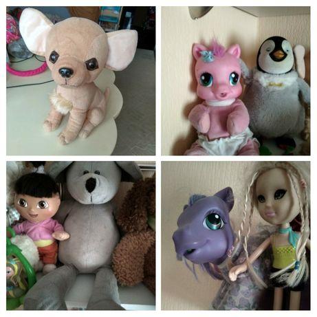 Мягкие игрушки, пони, чичи