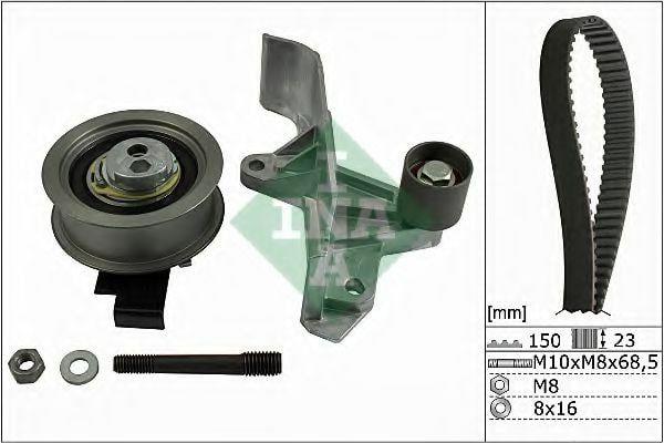 Комплект ГРМ INA для Skoda Superb / Passat B5 / Audi A6 1.8T