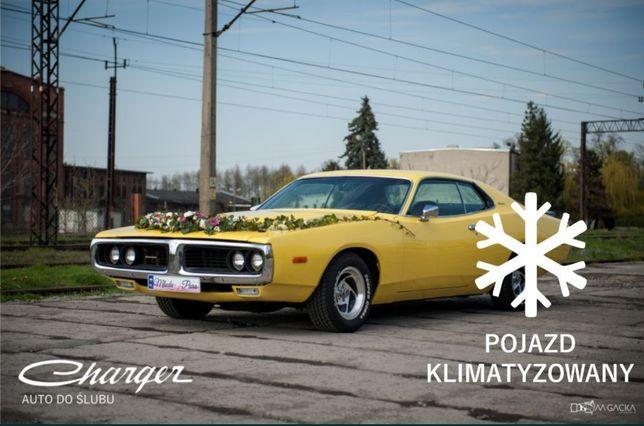 KLIMATYZACJA Samochód, Auto do ślubu, wesele | Dodge Charger 1973 v8