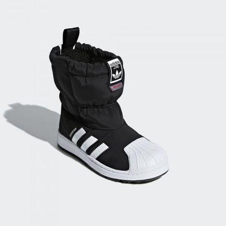Зимние ботинки adidas superstar