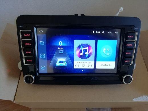 Магнітола Android Skoda Octavia  Superb Fabia Volkswagen Passat VW