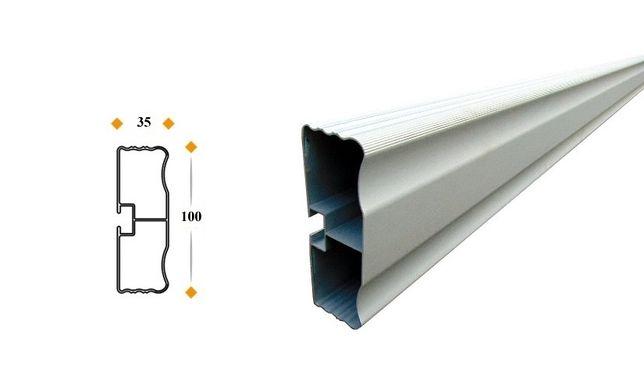 Profil odbojnik antyrowerowy antynajazdowy aluminium