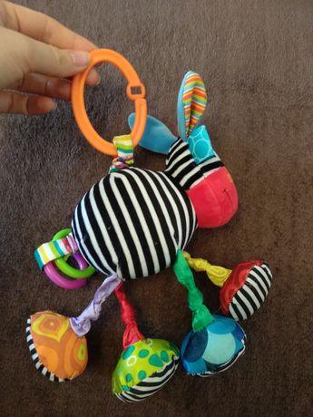 Игрушка подвеска зебра
