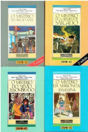 9075 Colecção 1001 Dectectives de Carlos Correia/Maria Alberta Menere