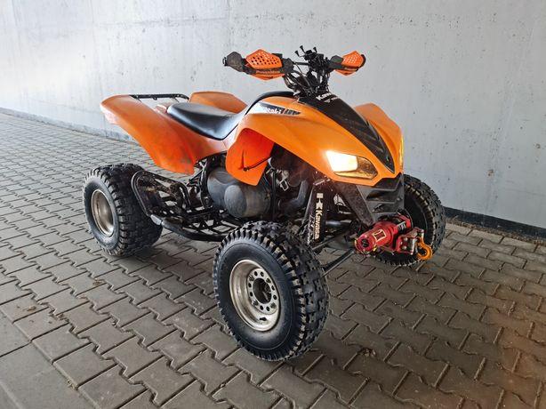 Kawasaki kfx 700 zarejestrowany w PL
