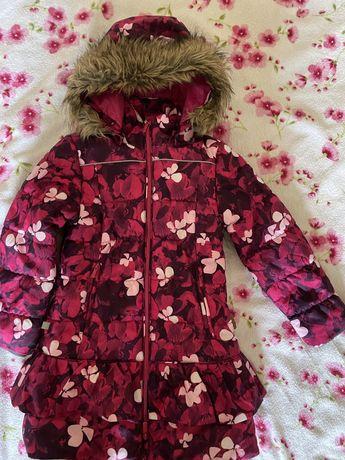 Зимнее пальто для девочки Huppa Whitney