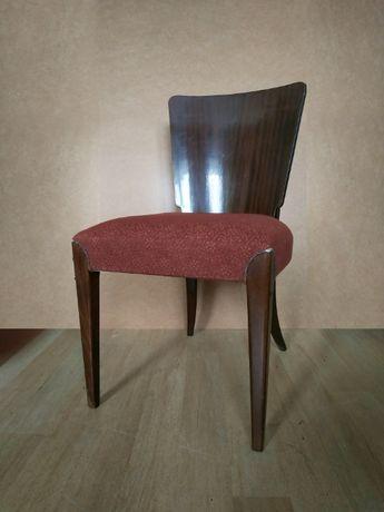 Krzesło H-214 Jindrich Halabala retro vintage prl art deco 3 sztuki
