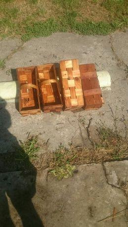Łubianki drewniane na owoce