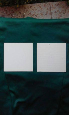 Плитка облицовочная белая ПВХ 15 на 15