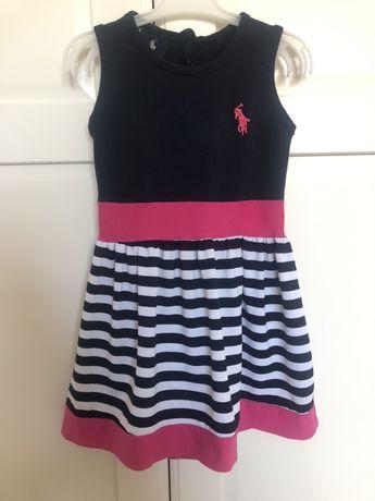 Sukienka dla dziewczynki Polo Ralph Lauren, rozmiar 92