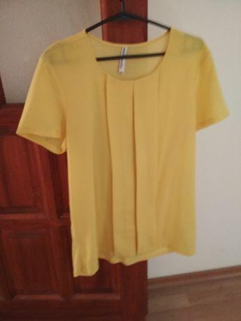 Bluzka żółta roz 42