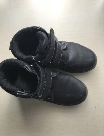 Демисезонные теплые ботинки
