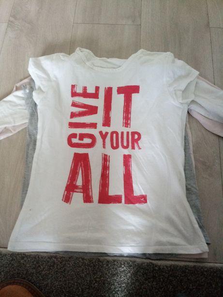 Koszulka z napisem dla dziewczynki 134-140 Pepco