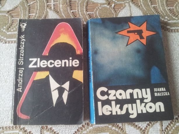 Stare książki-kryminał polski