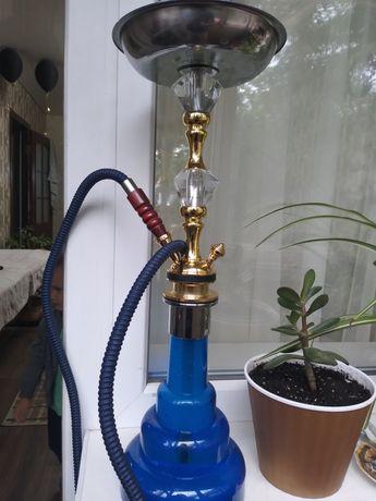 Продам кальян синий 54 см