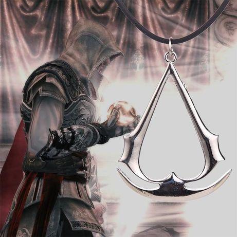 Brelok zawieszka naszyjnik Assassins ODYSSEY Creed duży NOWY unity