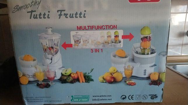 Ariete smoothie tutti frutti 3w1