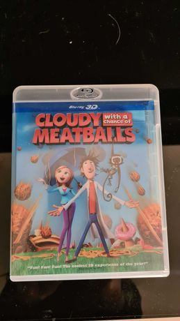 """Bajka na 3D Blu-ray """"Klopsiki i inne zjawiska pogodowe """""""