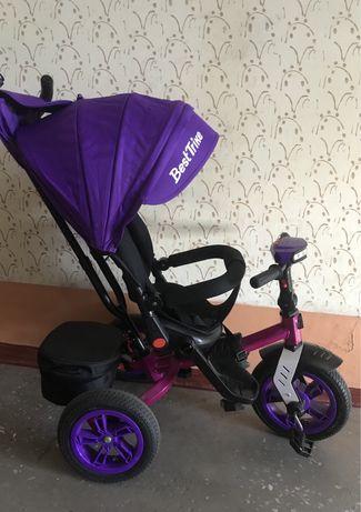 Продам новый велосипед с родительской ручкой