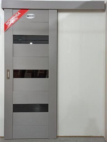 Розсувні міжкімнатні двері в м.Вінниця/Розсувные двери г.Винница