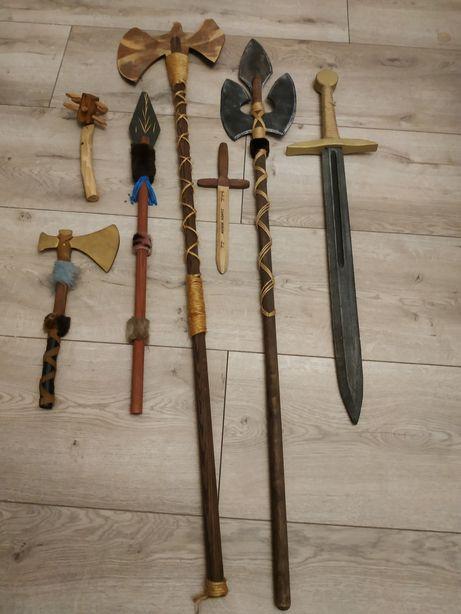 Drewniane bronie
