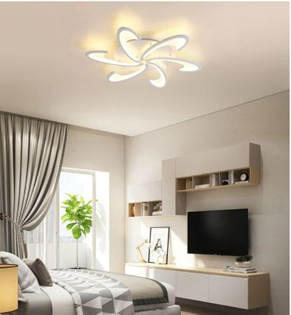 Lampa LED GWIAZDA Lampa Sufitowa plafon ŻYRANDOL eko