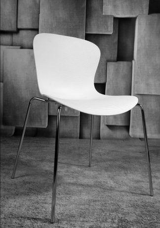 Krzeslo białe 4szt komplet