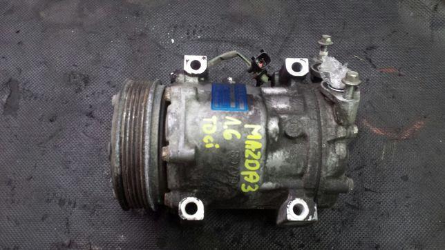 Sprężarka klimatyzacji BDB mazda 3 1.6d rdci ford focus fusion volvo