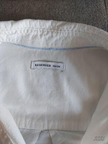 Koszula Reserved rozmiar 152 biała